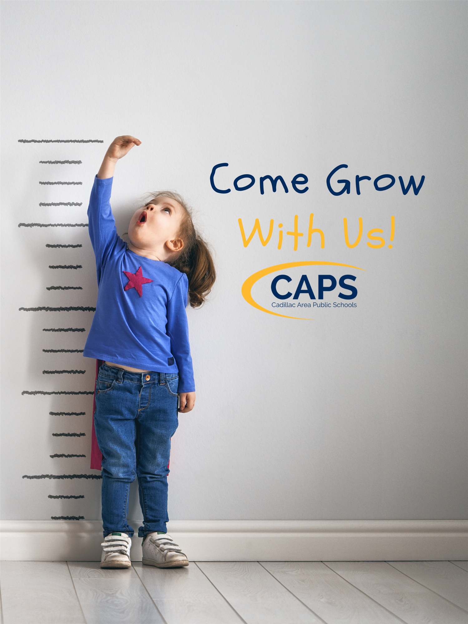 Come Grow With Us! Cadillac Schools logo